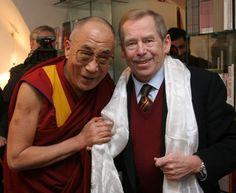 václav havel (with dalaj lama)