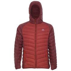 K-Way Men's Barnacle Hooded Down Jacket - Oxblood/Rust Oxblood, Outdoor Gear, Rust, Hiking, Winter Jackets, Camping, Fashion, Walks, Winter Coats