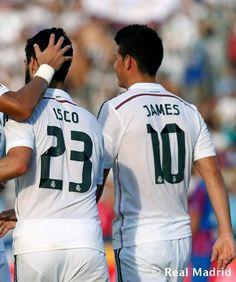 James and Isco #footballislife