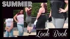 Plus size summer lookbook DAY to NIGHT