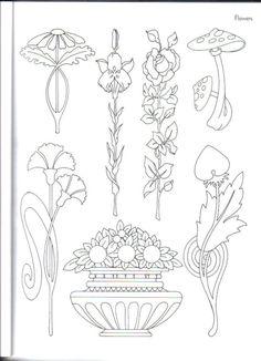 ru / Фото - Art-Nouveau_Designs by Judy Balchin - KaramelkaN - Gallery.ru / Фото – Art-Nouveau_Designs by Judy Balchin – KaramelkaN - Fleurs Art Nouveau, Motifs Art Nouveau, Motif Art Deco, Art Nouveau Flowers, Art Nouveau Pattern, Art Nouveau Design, Muebles Estilo Art Nouveau, Doodle Drawing, Art Drawings