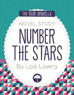 This is a novel study for Number the Stars by Lois Lowry. 44 pages of student work, plus an answer key! This novel study divides Number the Stars into nine sections for study. Reading Resources, Teaching Reading, Teaching Literature, Guided Reading, Middle School Libraries, Elementary Library, Number The Stars, Lois Lowry, 5th Grade Reading
