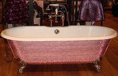Sparkle bath.