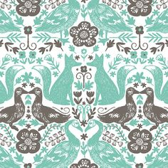 Forest Fables Collection by Hawthorne Threads  by MCAussieBoutique