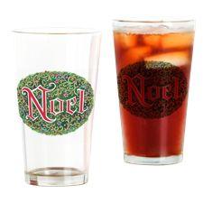 Noel Drinking Glass. vintage Fravessi design.