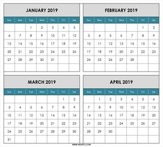 68 best free printable monthly calendar template images in 2018