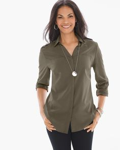 Silky Soft Relaxed Shirt