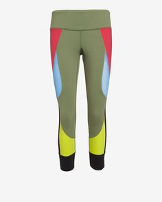 Colorful leggings have become the gym's must-have piece. Shop this Splits 59 Colorblock Capri Legging and 16 other pairs that will turn heads for all the right reasons.
