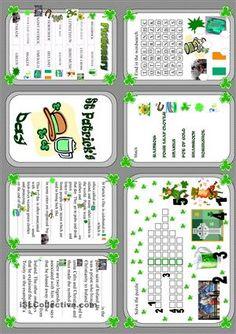 St Patrick's Day - minibook