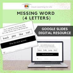 This digitally interactive resource is designed for use with Google Slides. This resource contains 20 slides in total. Answer sheets are included.The student must remember all the words in the top box, so that they can fill in the missing word in the bottom box from memory.