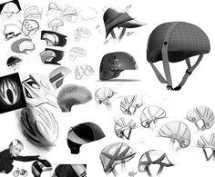 Cork Bicycle Helmet Concept For Lacoste on Behance