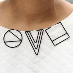 LessIS MJ Carew :: chain-less pendants - clip it!