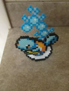 Squirtle 3D perler