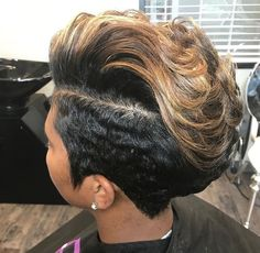 46 Cool African American Short Pixie Haircuts Ideas – Black Haircut Styles Related Short And Stylish Hairstyles For Women Over Haircuts for Older Women 2014 - Being older and older is something to be e.Makeup Tricks That Erase Years Black Haircut Styles, Short Black Hairstyles, Short Pixie Haircuts, Pixie Hairstyles, Braided Hairstyles, Everyday Hairstyles, Formal Hairstyles, Straight Hairstyles, Black Pixie Haircut
