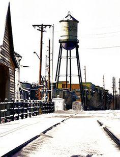 Water tower at Arvada Colorado