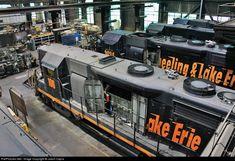 RailPictures.Net Photo: WLE 106 Wheeling & Lake Erie EMD GP35 at Brewster, Ohio by Jason Capra