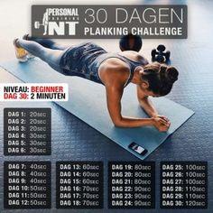 30 Dagen Planking Challenge | Personal Training NT