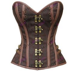 Women and men that are in the market for a strikingly beautiful corset to add to their collection can take advantage of the Catrina Steampunk Corset. Plus Size Steampunk, Moda Steampunk, Style Steampunk, Steampunk Corset, Gothic Corset, Steampunk Clothing, Steampunk Fashion, Victorian Fashion, Bustier Top