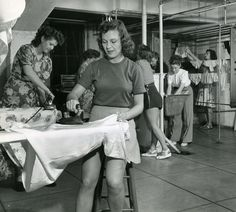 Ironing And Doing Laundry At The Hollywood Studio Club