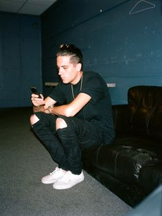 @g_eazy Backstage in Colorado Springs