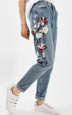 #jeans #denim #embroidery