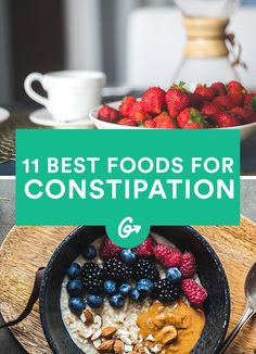 The Best Foods to Eat When You're Constipated #constipation #food http://greatist.com/eat/best-foods-constipation
