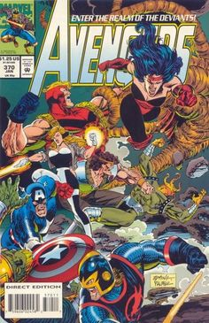 Cover for The Avengers (Marvel, 1963 series) #370 [Direct Edition]