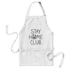 Stay Home Club Cat