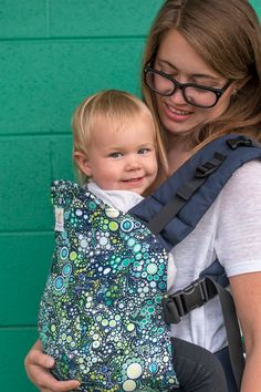 cac788bf5b2 Aqua Bubbles- Standard Kinderpack – Kindercarry Baby Wearing