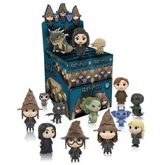 Harry Potter Mystery Minis Series 2 Display Case - Funko - Harry Potter - Mini-Figures at Entertainment Earth Harry Potter Dolls, Lego Harry Potter, Harry Potter Action Figures, Harry Potter Advent Calendar, Beloved Film, Pop Toys, Funko Mystery Minis, Magical Creatures, Pop Vinyl