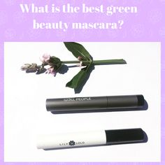 Read a green beauty product review about two green beauty mascaras. The first one is Lily Lolo, and the second one is W3ll People Expressionist Mascara. Mascara Review, Makeup Drawer, Beauty Review, Product Review, My Beauty, Lily, Green, People, Mascaras