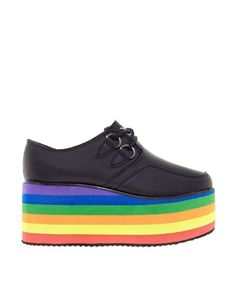 YRU Kreep Multi Flatform Creeper Shoes  @Huong Pham Giang