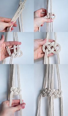 macrame plant hanger+macrame+macrame wall hanging+macrame patterns+macrame projects+macrame diy+macrame knots+macrame plant hanger diy+TWOME I Macrame & Natural Dyer Maker & Educator+MangoAndMore macrame studio Macrame Design, Macrame Art, Macrame Projects, Macrame Knots, Diy Projects, Micro Macrame, How To Macrame, Macrame Mirror, Macrame Curtain
