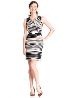 SPENSE Sleeveless Sheath Dress