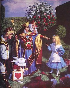 ALICE IN WONDERLAND BY GEG HILDEBRANDT