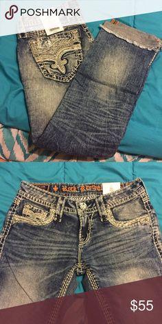 Rock Revival Capris Never worn - Janelle Capris Rock Revival Pants Capris