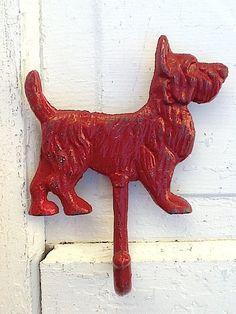Scottie Dog Wall Hook
