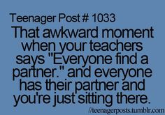 that happends to me in almost all my classes exept pe science math and ss