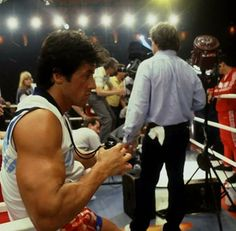 Filming Rocky IV