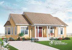 3 grandes chambres, cuisine style solarium, espace ouvert, très abordable   http://www.dessinsdrummond.com/detail-plan-de-maison/info/1002825.html