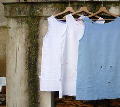 From my atelier JEN LEN / 100% linen, with hand embroidery (Marketa Vachalova Vojtiskova)