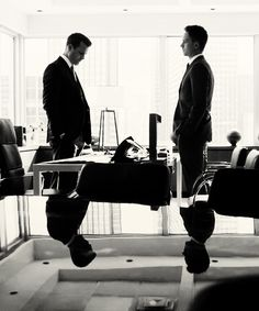 two lawyers, one degree. #suits