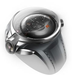 Watch concepts by Thierry Fischer inspired by nebula, black holes.
