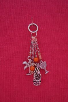 Orange & Yellow Summer Charm by closecrafts on Etsy, $10.00