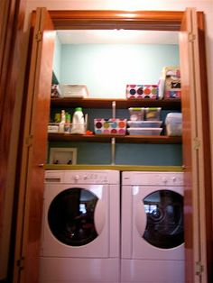 another laundry room closet idea