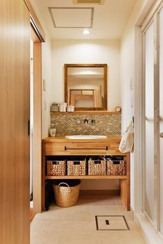Trendy Home Inspiration Bathroom Woods Ideas Wood Bathroom, Washroom, Bad Inspiration, Bathroom Inspiration, Home Office Design, House Design, Beautiful Home Gardens, Trendy Home, Bathroom Renovations