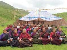 Female Nyingma practitioners in Amdo