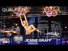 Jessie Graff Puts on a Show - American Ninja Warrior Qualifiers 2020 - YouTube Jessie Graff, American Ninja Warrior, Youtube, Youtubers, Youtube Movies