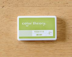 Color Theory Ink Pad: Lime Light at @studio_calico