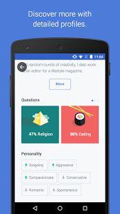 OkCupid Dating: miniatura de captura de pantalla